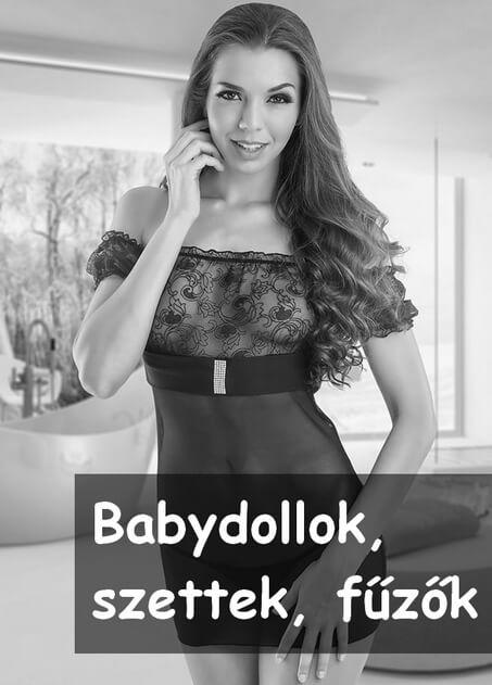 Csinos, márkás, Babydollok, Szettek, Fűzők, fehérneműk széles választéka. Body, Hálóing, fűző, testharisnya, cicaruha, női jelmez, szerepjátékruha. Khimera - magyar termékek XS-től, XXL-ig.
